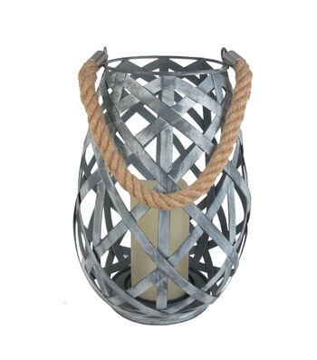 Seaport Small Metal LED Lantern