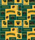 Baylor University Bears Fleece Fabric 58\u0022-Block