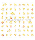 Alexandra Renke Easter 25 pk 12\u0027\u0027x12\u0027\u0027 Papers-Small Chicks