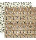 Christmas Double-Sided Cardstock 12\u0022X12\u0022-Cheery Stockings