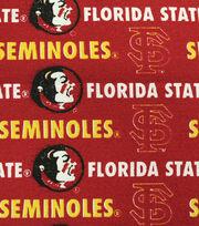 "Florida State University Seminoles Canvas Fabric 58""-Logo, , hi-res"