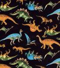 Novelty Cotton Fabric -Dino Allover