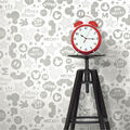 York Wallcoverings Wallpaper-Mickey Mouse Icons