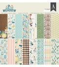 Authentique Meadow 24-sheets 12\u0027\u0027x12\u0027\u0027 Double-sided Cardstock Pad