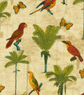 Tommy Bahama Outdoor Fabric-Tbo Hearts Of Palm Toffee
