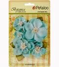 Botanica Sparkling Glitter Magnolia Mix 1.2\u0022 To 2.7\u0022-Blue