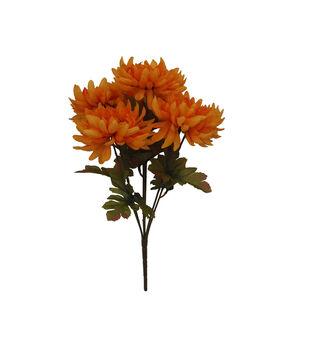 Blooming Autumn 16'' Mum Bush-Orange