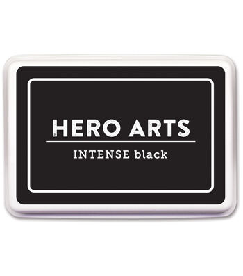 Hero Arts 3.5''x2.25'' Dye Ink Pad-Intense Black