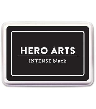 Hero Arts 3.5''x2.25'' Dye Ink Pad-Intense Black