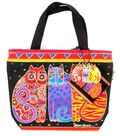 Laurel Burch Mini  Zip Top Tote-Many Designs