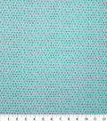 Keepsake Calico Cotton Fabric-Green Shaded Dots
