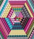 Modern Cotton Fabric -Pattern Triangles