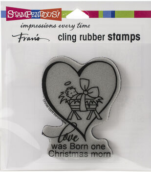 Stampendous Cling Stamp Christmas Morn