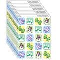 Teacher Created Resources Winter Season Stickers, 120 Per Pack, 12 Packs