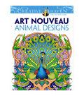 Dover Creative Haven Art Nouveau Animal Coloring Book