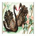 RIOLIS 15.75\u0027\u0027x9.5\u0027\u0027 15-count Counted Cross Stitch Kit-Black Swan