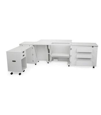 Kangaroo Kabinet Aussie Sewing Cabinet-White