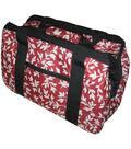 JanetBasket Red Floral Eco Bag-18\u0022 x 10\u0022 x 12\u0022