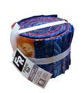 Jelly Roll Cotton Fabric Pack 2.5\u0027\u0027x42\u0027\u0027-Purple Batik