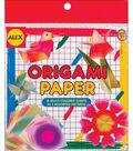 Alex Toys Origami Paper 6\u0022x6\u0022 18/Pkg Printed Colors