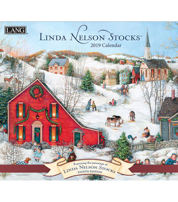 2019 Wall Calendar Linda Nelson Stocks