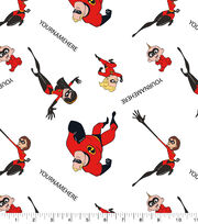 Disney The Incredibles Print Fabric by Springs Creative-Family Toss, , hi-res