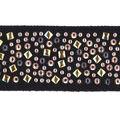 Simplicity Mosaic Stud Belt Metallic Trim 1.13\u0027\u0027