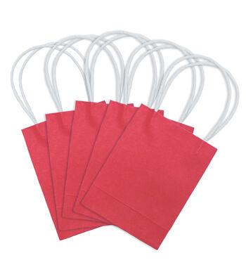 Micro Bag-Red 5 pk