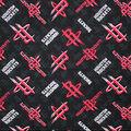 Houston Rockets Cotton Fabric -Logo