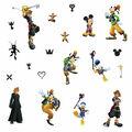 York Wallcoverings Wall Decals-Kingdom Hearts