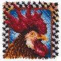 Wonderart Latch Hook Kit 12\u0022X12\u0022-Rooster
