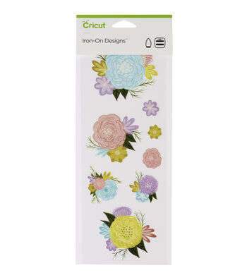 Cricut Small Iron-On Designs-Flowers