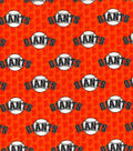 San Francisco Giants Cotton Fabric 58\u0022-Mini Print