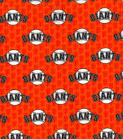 San Francisco Giants Cotton Fabric -Mini Print, , hi-res