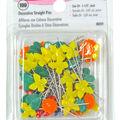 Decorative Flat Flower Straight Pins-100/Pkg