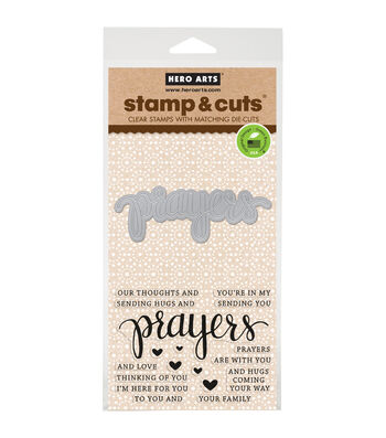 Hero Arts Stamp & Cut-Prayers