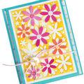Sizzix Framelits Dies By Stephanie Barnard 4/Pkg-Flowers Drop-Ins