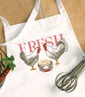Stamped Cross Stitch Apron 33\u0022X36\u0022-Rooster