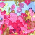 Luxe Flannel Fabric -Bright Watercolor