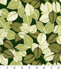 Quilter\u0027s Showcase Cotton Fabric-Sketched Leaves