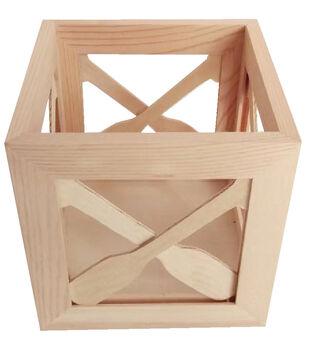 Camp Ann Crafts Small Oar Crossed Crate