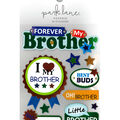 Park Lane Paperie 10 pk Stickers-I Heart My Brother