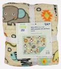 No-Sew Fleece Fabric 48\u0022-Muttnick Neal Calypso