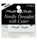 Mill Hill 2 pk Needle Threaders with Cutter
