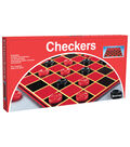 Checkers With Folding Board, 6 Pack