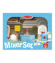 Melissa & Doug Wooden Make a Cake Mixer Set, , hi-res