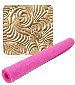 NY Cake Rosette Impression Mat By Lisa Mansour-Pink