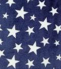 Sew Lush Fabric -Stars on Navy