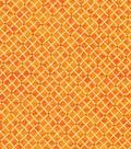 Keepsake Calico Cotton Fabric 43\u0022-Cadmium Diamond Blender