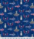 Washington Capitals Cotton Fabric 42\u0022-Digital Charmpionship
